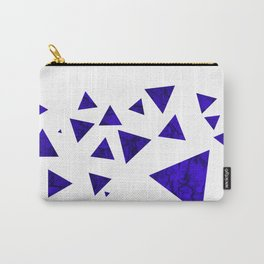 Triangles of March Carry-All Pouch