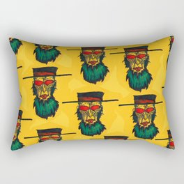 Beware the killer Amish! Rectangular Pillow
