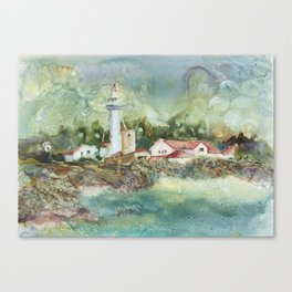 Whitefish Point Canvas Print