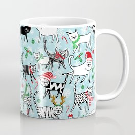 Christmas Cats Coffee Mug