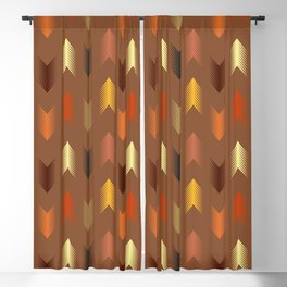 Tribal arrows pattern Blackout Curtain