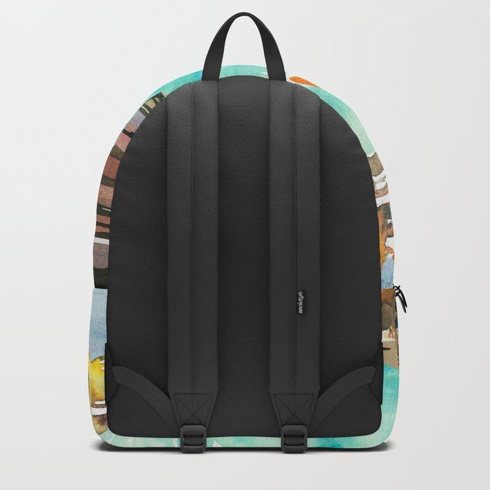 Seascape #2 Backpack