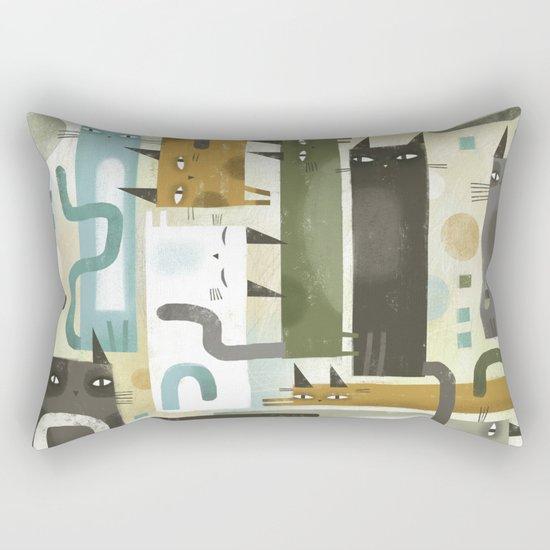 EARS EYES & TAILS Rectangular Pillow