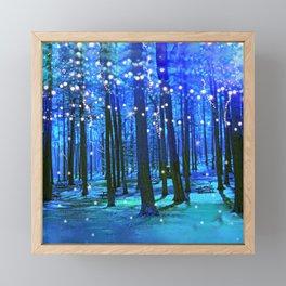 magical forest Framed Mini Art Print