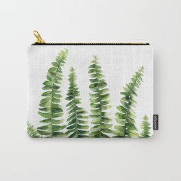 Fern watercolour Carry-All Pouch