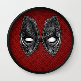 Aztec black Dead eye Mask iPhone 4 4s 5 5c 6, pillow case, mugs and tshirt Wall Clock