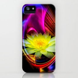 Flower Magic -Water lily iPhone Case