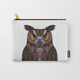 Great Horned Owl 2016 Carry-All Pouch