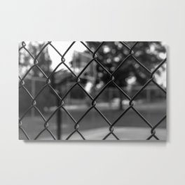 The Sideline Story Metal Print