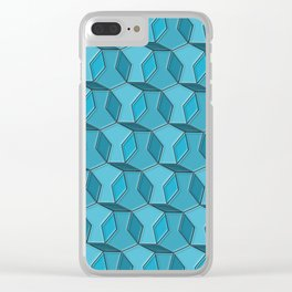 Geometrix 159 Clear iPhone Case