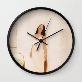 On the city walls Wall Clock