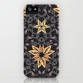 Curly autumn iPhone Case