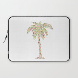 Palm Tree Floral Watercolor Laptop Sleeve