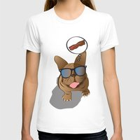 bacon T-shirts featuring BACON! by Salina Ayala