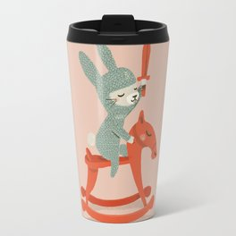 Rabbit Knight Travel Mug