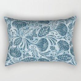 Arabella - Washed Indigo Rectangular Pillow