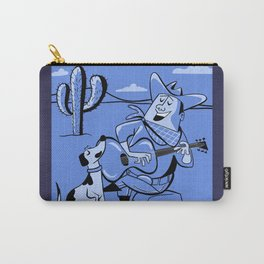 Campfire Cowboy Song Carry-All Pouch