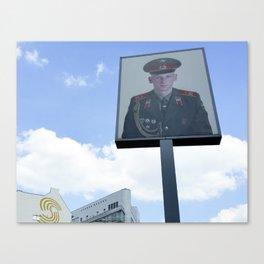 Checkpoint Charlie Berlin Canvas Print