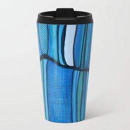 2 Blue Travel Mug