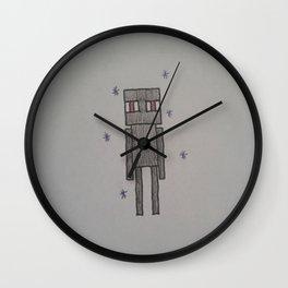 Enderman Wall Clock