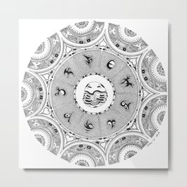 Nine Starchild Portals Metal Print