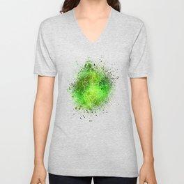 Tree Of Life Gaia Sacred Gemoetry Unisex V-Neck