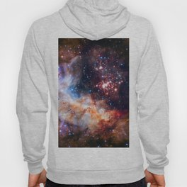 A star cluster Westerlund 2 in the Milky Way galaxy (NASA/ESA/Hubble) Hoody