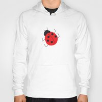 ladybug Hoodies featuring Ladybug by LeMaxBleu