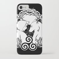 teen wolf iPhone & iPod Cases featuring Teen Wolf by grumpy wolf