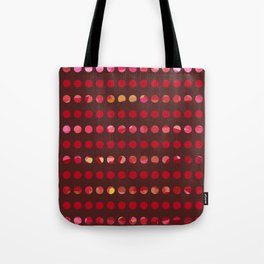 Pink Circles-a-Plenty Tote Bag