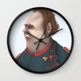 Commander Adrian Wall Clock
