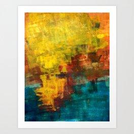 sun strokes Art Print