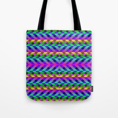 Rainbow Scaffolding Tote Bag