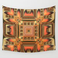 blanket Wall Tapestries featuring Cozy Blanket by Lyle Hatch