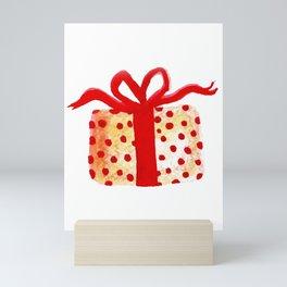 Watercolor Lovely Gift Mini Art Print