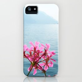 Italian Lakes iPhone Case