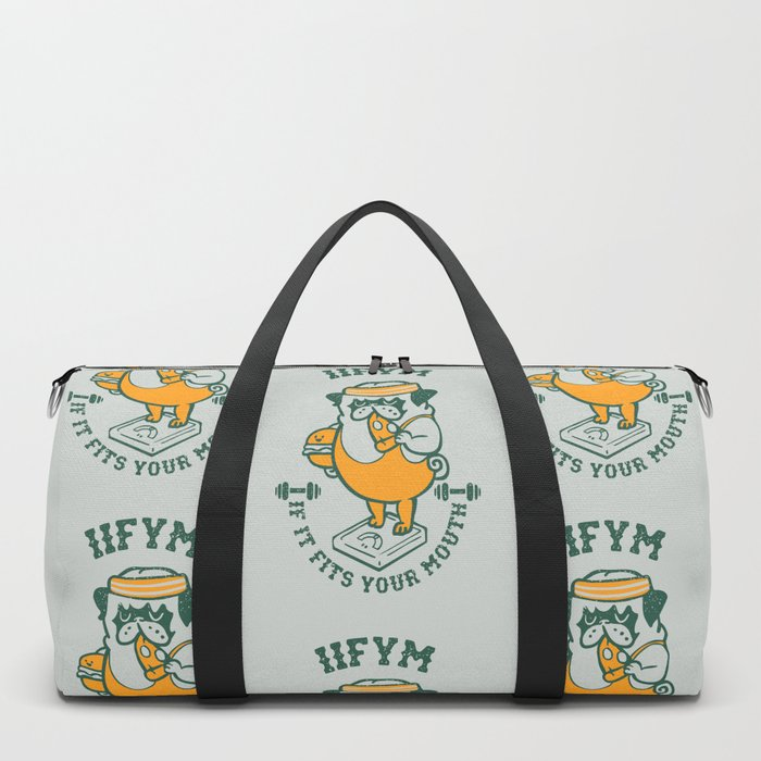 IIFYM (If It Fits Your Mouth) Duffle Bag