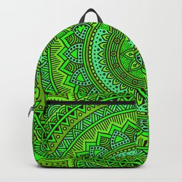 Hippie mandala 98 Backpack
