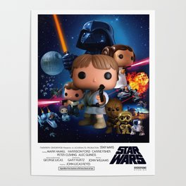 A New Hope - Theatre Version Poster