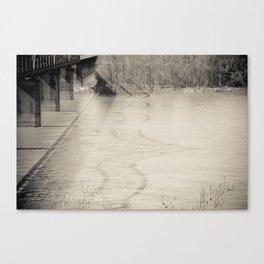 Welcome to Vicksburg 6 Canvas Print