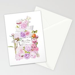 Parfum Perfume Fashion Floral Flowers Blooming Bouquet Stationery Cards