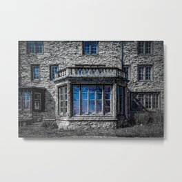 H. Clarke Mansion Evanston Illinois Bay Window Lakeside  Metal Print