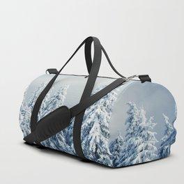 Winter Landscape Duffle Bag