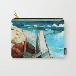 Winslow Homer After the Hurricane Carry-All Pouch