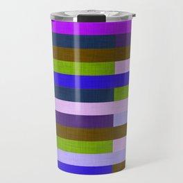 Kilim Fall Colors Purple Green #homedecor Travel Mug