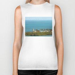 Boca Chita Key and The Miami Skyline Biker Tank