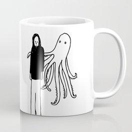 Octopus Hug Coffee Mug