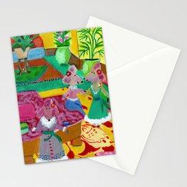 Royal Hawaiian Poodles Stationery Cards