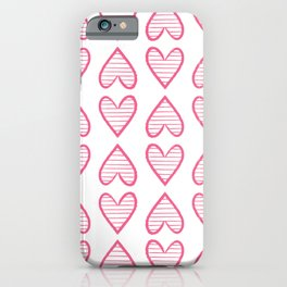 Valentines heats iPhone Case