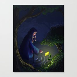 The Healer Woman Canvas Print